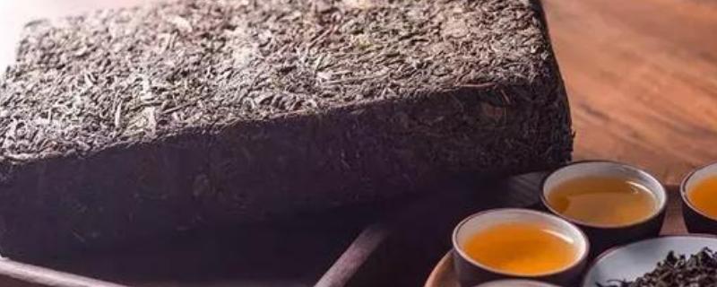 黑茶有几个品种