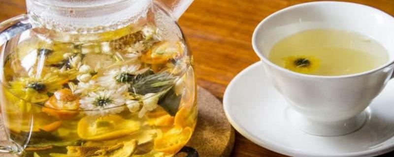 菊花茶用多少度的水来泡